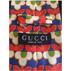 GUCCI Pop Art RETRO Tie NEW Authentic Italy RARE